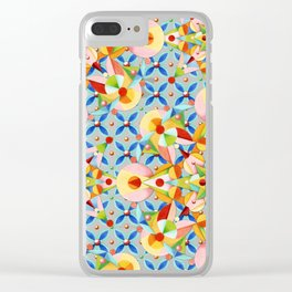 Elizabethan Pastel Mandala Clear iPhone Case