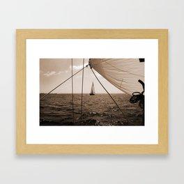 Framed in Our Lines Framed Art Print