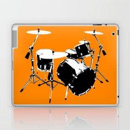 Drumkit Silhouette (frontview) Laptop & iPad Skin