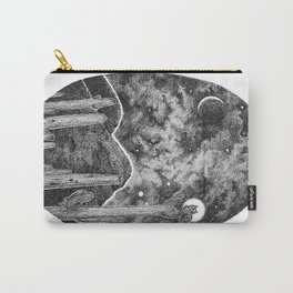 Desert Night Owl Carry-All Pouch
