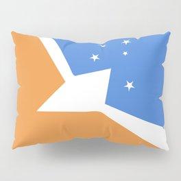 Tierra Del Fuego Province Argentina flag emblem Pillow Sham