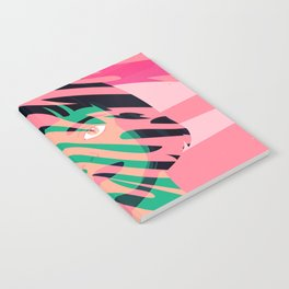 Cat Planet Girl Notebook