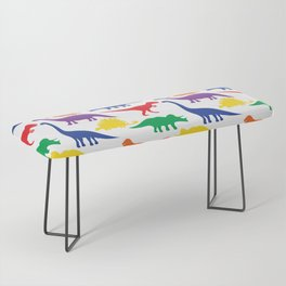 Dinosaurs - White Bench