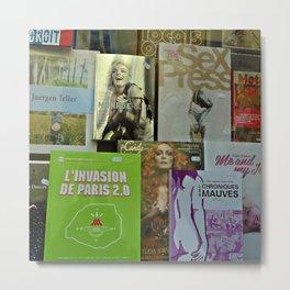 Pulp fiction by Lika Ramati Metal Print