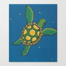 Baby Turtle Canvas Print