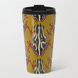 congo tree frog gold Travel Mug