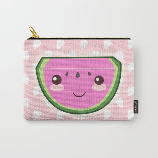 Kawaii Watermelon Carry-All Pouch