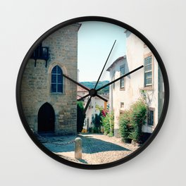 Obidos, Portugal(RR178) Analog 6x6 Kodal Ektar 100 Wall Clock