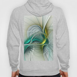 Fractal Evolution, Abstract Art Graphic Hoody