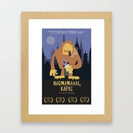 Nagmamahal, Kapre (Philippine Mythological Creatures Series) Framed Art Print