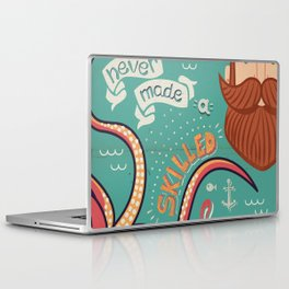 A Smooth Sea Never Made A Skilled Sailor Laptop & iPad Skin