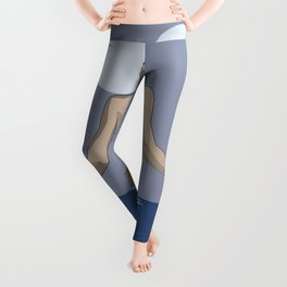 Swim with the moon Leggings