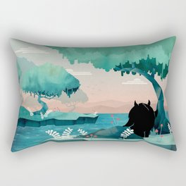 The Journey Rectangular Pillow