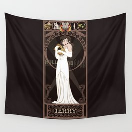 Jenny Nouveau - The Rocketeer Wall Tapestry