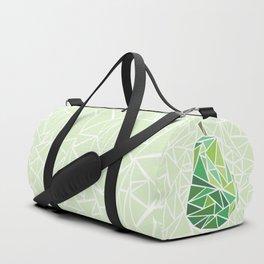 Pear geometry Duffle Bag