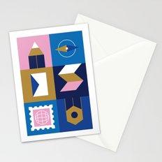 Travel Postcard Stationery Cards