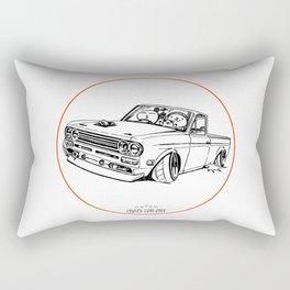 Crazy Car Art 0188 Rectangular Pillow