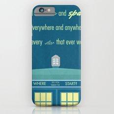 Doctor Who TARDIS iPhone 6s Slim Case