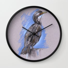 Cormorant Wall Clock