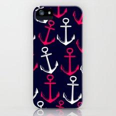 Anchors away! Slim Case iPhone (5, 5s)