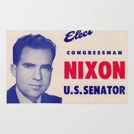 Elect Nixon to Senate Flier Rug