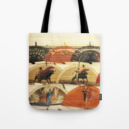 Spanish Scratched Fans Tote Bag