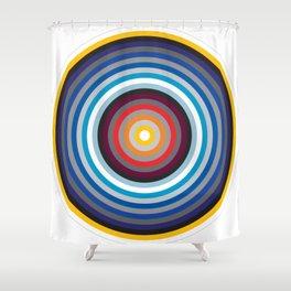 Caeruleus Panorama Shower Curtain