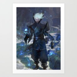 Iran The Sorcerer  Art Print