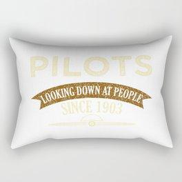 Pilot Proud Aviation Lover Gift Idea Rectangular Pillow