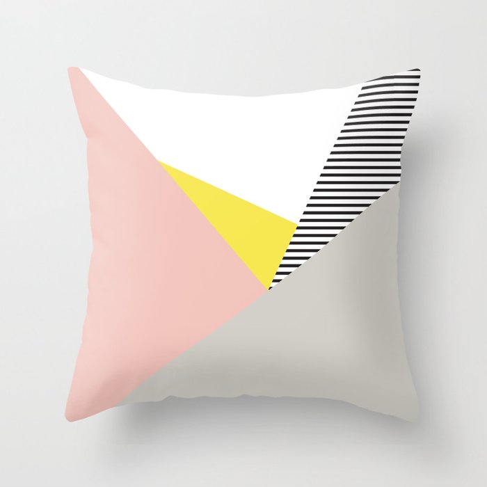 Minimal Complexity V.5 Throw Pillow