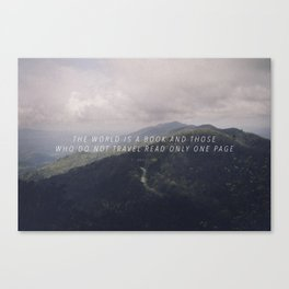 traveler Canvas Print