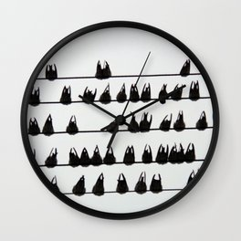 Rearview Wall Clock