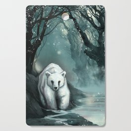 Spirit Bear Cutting Board
