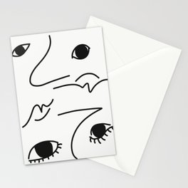 two-faced Stationery Cards