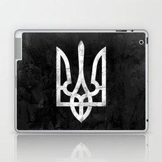 Ukraine Black Grunge Laptop & iPad Skin
