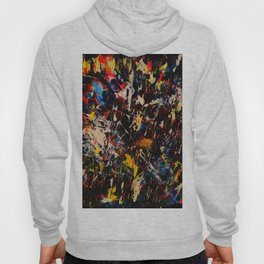 French Abstract Expressionism Painting Hoody