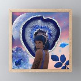 Venus in Pisces Framed Mini Art Print