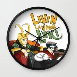 Livin' la Vida Loki Wall Clock