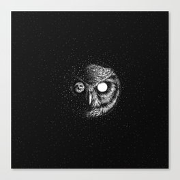 Moon Blinked Canvas Print