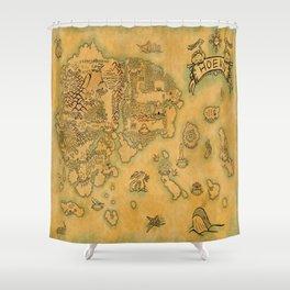 Hoenn Shower Curtain