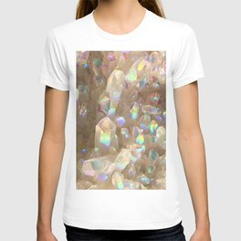Unicorn Horn Aura Crystals T-shirt