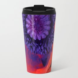 Super Macro Poppy Travel Mug