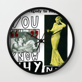 You Know Why NY Wall Clock