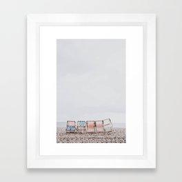 summer beach iii Framed Art Print