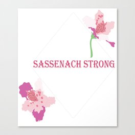 Sassenach Strong Canvas Print