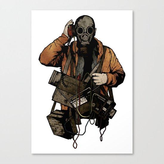 The Listener Canvas Print