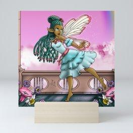 African American Fairy Mini Art Print