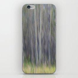 Birch Blurs iPhone Skin