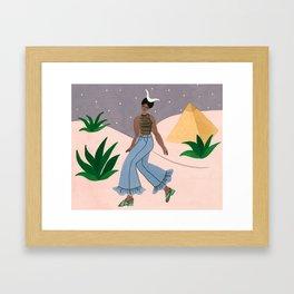 Capricorn - For Marie Claire France January 2018 Framed Art Print