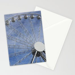Fun wheel carousel Stationery Cards